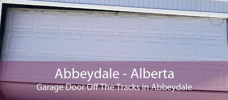 Abbeydale - Alberta Garage Door Off The Tracks in Abbeydale