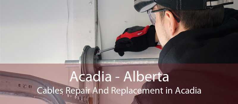 Acadia - Alberta Cables Repair And Replacement in Acadia
