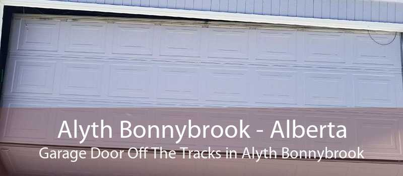 Alyth Bonnybrook - Alberta Garage Door Off The Tracks in Alyth Bonnybrook