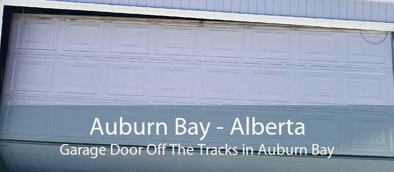 Auburn Bay - Alberta Garage Door Off The Tracks in Auburn Bay