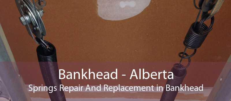 Bankhead - Alberta Springs Repair And Replacement in Bankhead