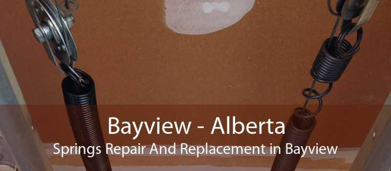 Bayview - Alberta Springs Repair And Replacement in Bayview