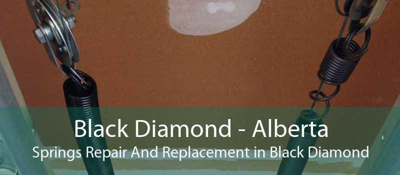 Black Diamond - Alberta Springs Repair And Replacement in Black Diamond