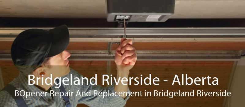Bridgeland Riverside - Alberta BOpener Repair And Replacement in Bridgeland Riverside