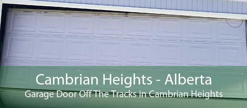 Cambrian Heights - Alberta Garage Door Off The Tracks in Cambrian Heights