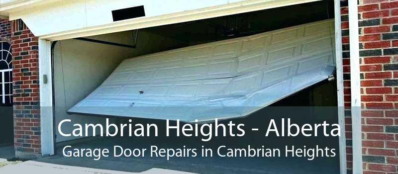 Cambrian Heights - Alberta Garage Door Repairs in Cambrian Heights