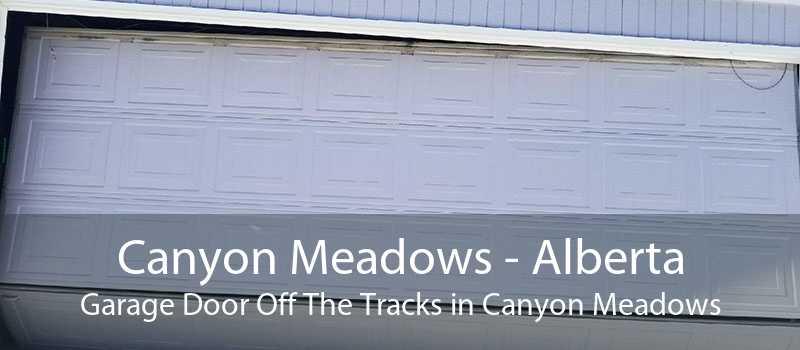 Canyon Meadows - Alberta Garage Door Off The Tracks in Canyon Meadows