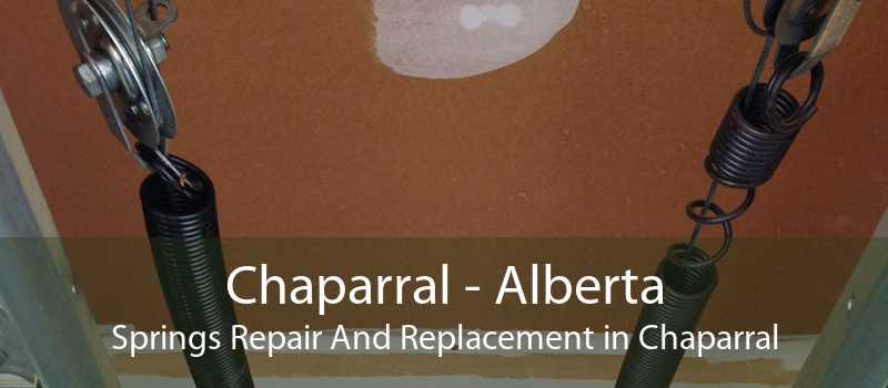 Chaparral - Alberta Springs Repair And Replacement in Chaparral