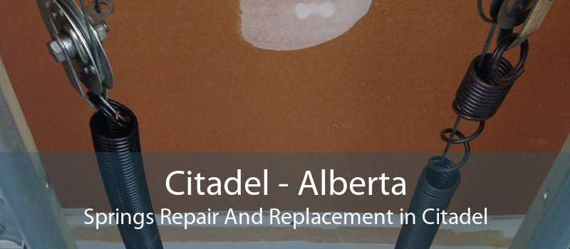 Citadel - Alberta Springs Repair And Replacement in Citadel