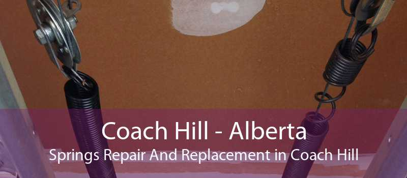 Coach Hill - Alberta Springs Repair And Replacement in Coach Hill
