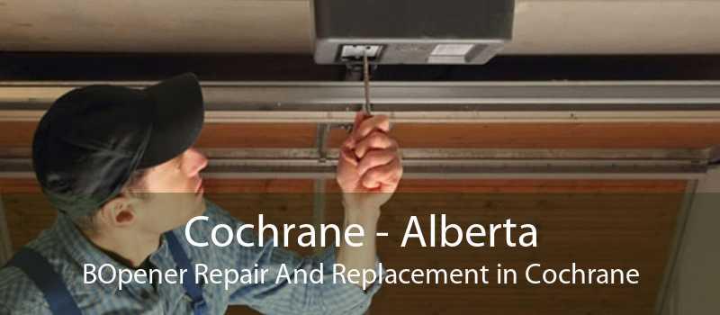Cochrane - Alberta BOpener Repair And Replacement in Cochrane