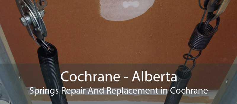 Cochrane - Alberta Springs Repair And Replacement in Cochrane