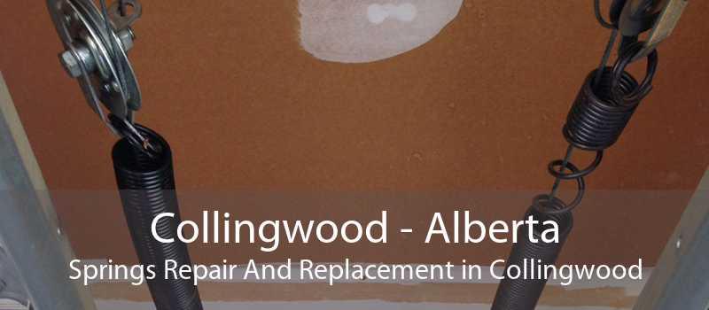 Collingwood - Alberta Springs Repair And Replacement in Collingwood