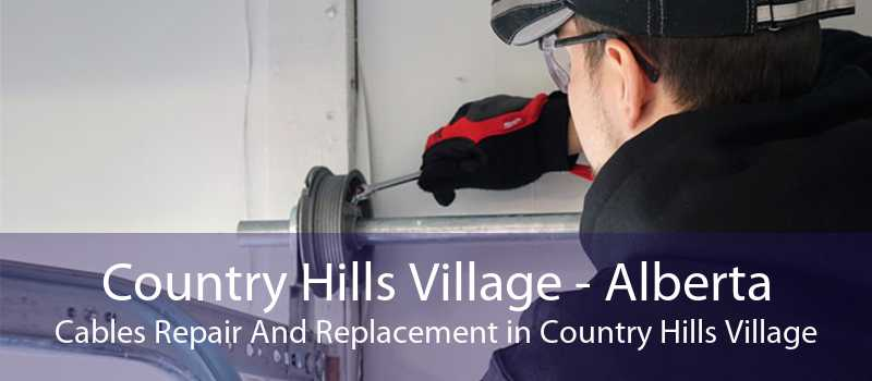 Country Hills Village - Alberta Cables Repair And Replacement in Country Hills Village
