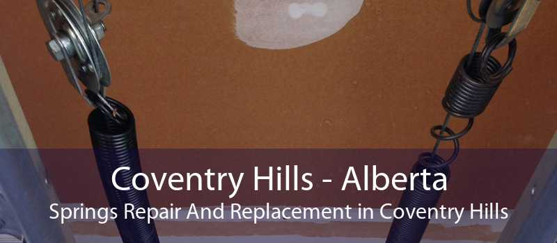 Coventry Hills - Alberta Springs Repair And Replacement in Coventry Hills