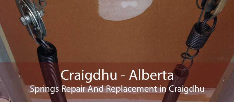 Craigdhu - Alberta Springs Repair And Replacement in Craigdhu