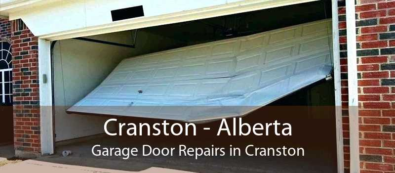 Cranston - Alberta Garage Door Repairs in Cranston