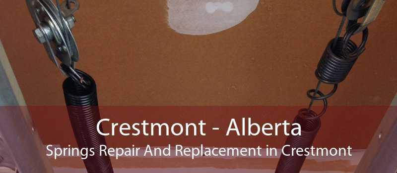 Crestmont - Alberta Springs Repair And Replacement in Crestmont
