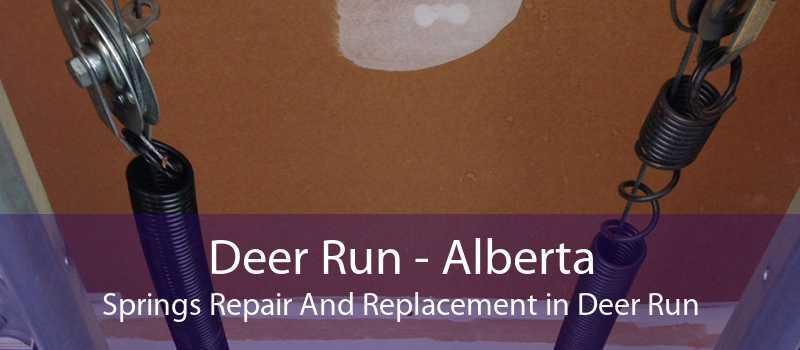 Deer Run - Alberta Springs Repair And Replacement in Deer Run