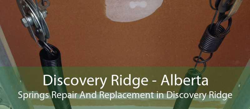 Discovery Ridge - Alberta Springs Repair And Replacement in Discovery Ridge