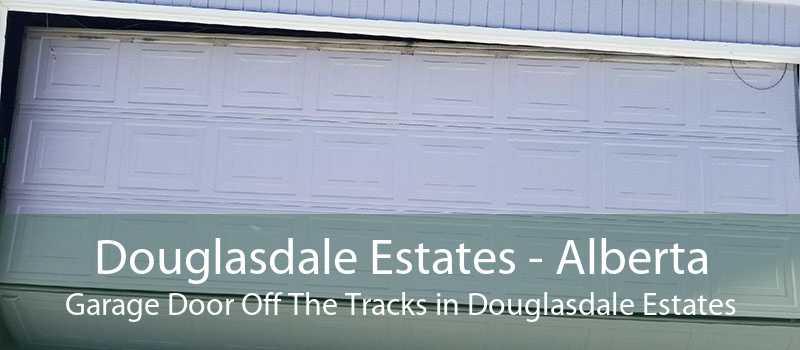Douglasdale Estates - Alberta Garage Door Off The Tracks in Douglasdale Estates