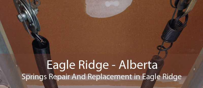 Eagle Ridge - Alberta Springs Repair And Replacement in Eagle Ridge