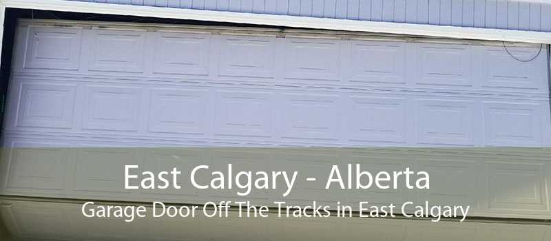 East Calgary - Alberta Garage Door Off The Tracks in East Calgary