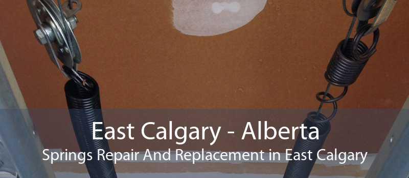 East Calgary - Alberta Springs Repair And Replacement in East Calgary