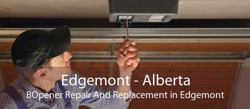 Edgemont - Alberta BOpener Repair And Replacement in Edgemont