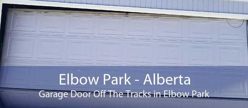 Elbow Park - Alberta Garage Door Off The Tracks in Elbow Park