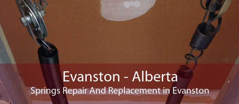 Evanston - Alberta Springs Repair And Replacement in Evanston