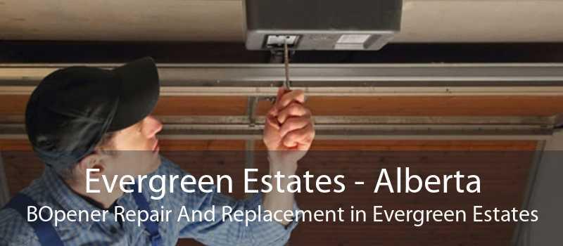 Evergreen Estates - Alberta BOpener Repair And Replacement in Evergreen Estates