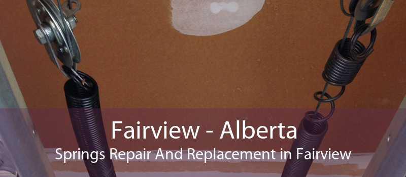 Fairview - Alberta Springs Repair And Replacement in Fairview