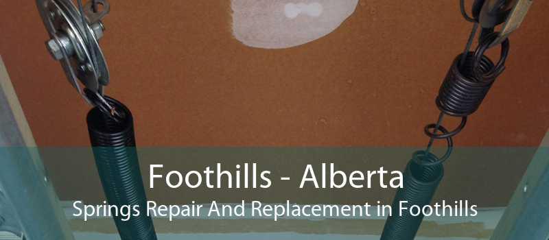 Foothills - Alberta Springs Repair And Replacement in Foothills