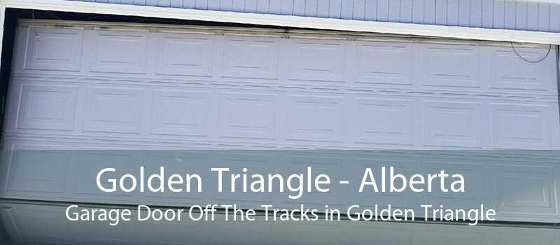 Golden Triangle - Alberta Garage Door Off The Tracks in Golden Triangle