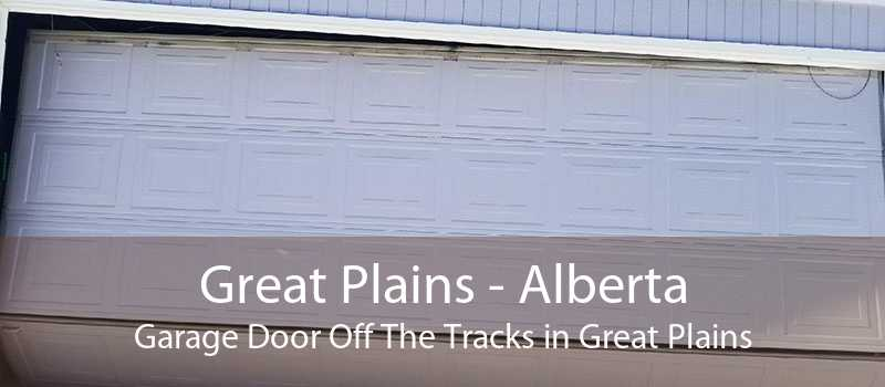 Great Plains - Alberta Garage Door Off The Tracks in Great Plains