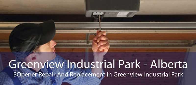 Greenview Industrial Park - Alberta BOpener Repair And Replacement in Greenview Industrial Park