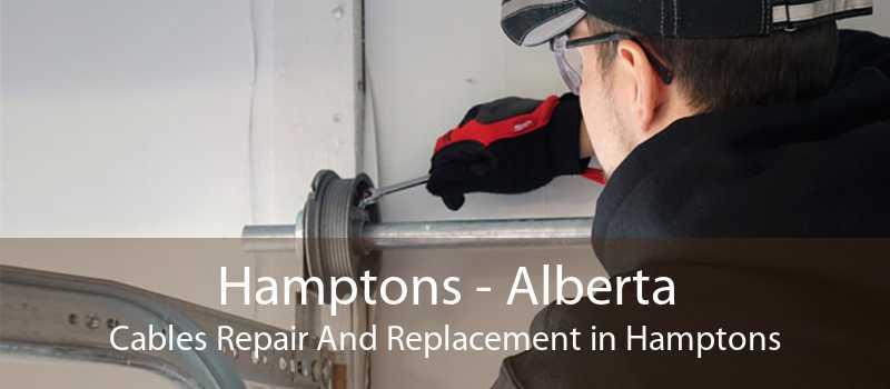 Hamptons - Alberta Cables Repair And Replacement in Hamptons