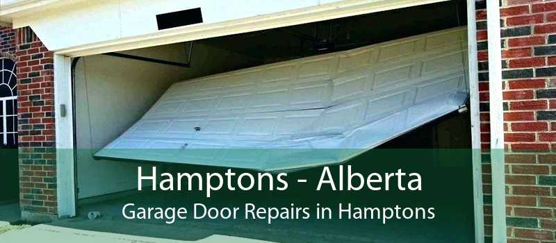 Hamptons - Alberta Garage Door Repairs in Hamptons