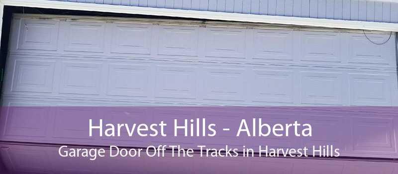 Harvest Hills - Alberta Garage Door Off The Tracks in Harvest Hills