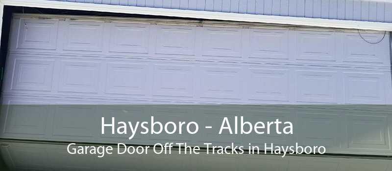 Haysboro - Alberta Garage Door Off The Tracks in Haysboro