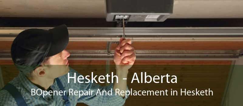 Hesketh - Alberta BOpener Repair And Replacement in Hesketh