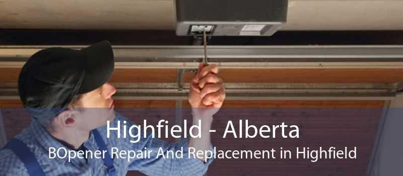 Highfield - Alberta BOpener Repair And Replacement in Highfield