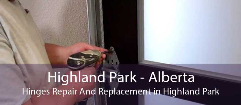 Highland Park - Alberta Hinges Repair And Replacement in Highland Park