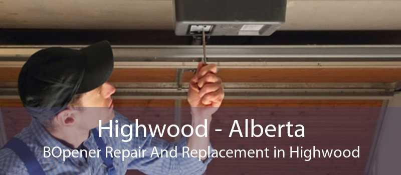 Highwood - Alberta BOpener Repair And Replacement in Highwood