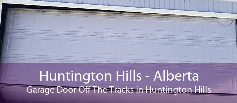 Huntington Hills - Alberta Garage Door Off The Tracks in Huntington Hills