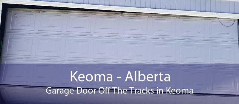 Keoma - Alberta Garage Door Off The Tracks in Keoma
