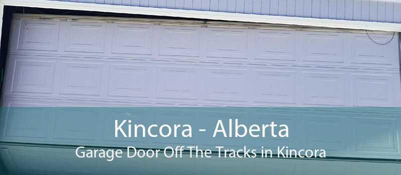 Kincora - Alberta Garage Door Off The Tracks in Kincora