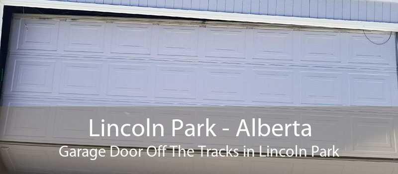 Lincoln Park - Alberta Garage Door Off The Tracks in Lincoln Park