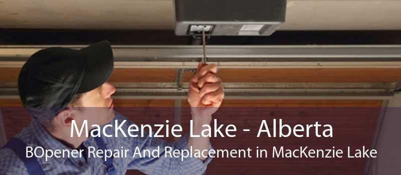 MacKenzie Lake - Alberta BOpener Repair And Replacement in MacKenzie Lake